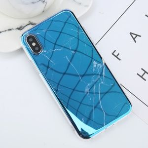 Accessories - [NEW] 7/8/7+/8+ iPhone Glossy Blue Marble case